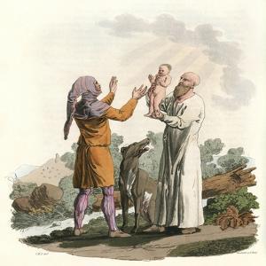 Ancient Irish Priests by Charles Hamilton Smith
