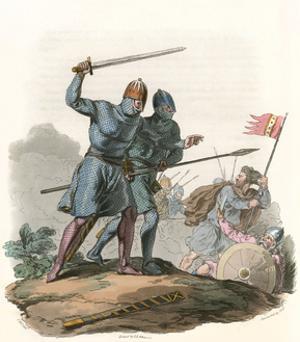 Anglo-Danish Warriors by Charles Hamilton Smith