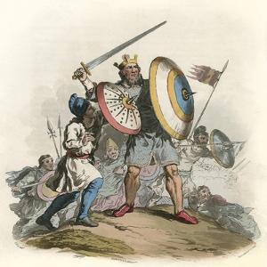Anglo-Saxon King by Charles Hamilton Smith