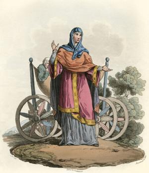 Anglo-Saxon Lady by Charles Hamilton Smith