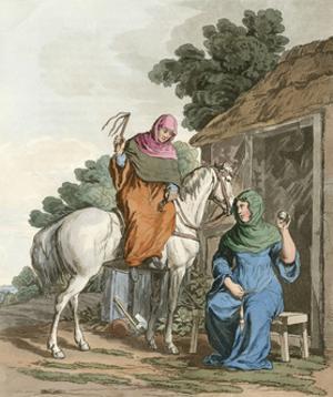 Anglo-Saxon Women by Charles Hamilton Smith
