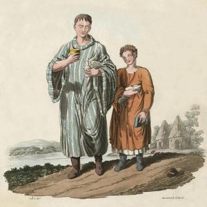 Bardic Scholars Ca 600 by Charles Hamilton Smith