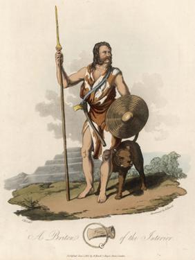 Briton of the Interior by Charles Hamilton Smith