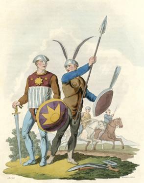 Early Danish Warriors by Charles Hamilton Smith