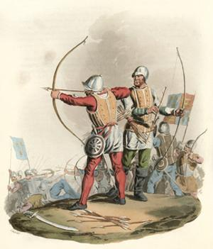 English Archers by Charles Hamilton Smith