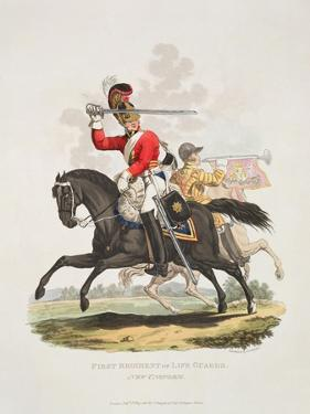 First Regiment of Life Guards, New Uniform, Engraved by Joseph Constantine Stadler, 1815 by Charles Hamilton Smith