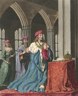 Henry VI at Devotions by Charles Hamilton Smith