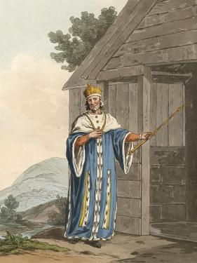 Hywel, Welsh Prince by Charles Hamilton Smith