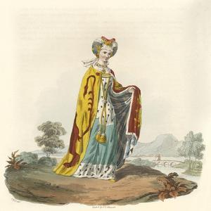 Joyce Lady Tiptoft by Charles Hamilton Smith