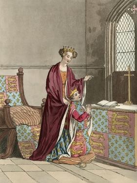 King Richard II and His Mother by Charles Hamilton Smith