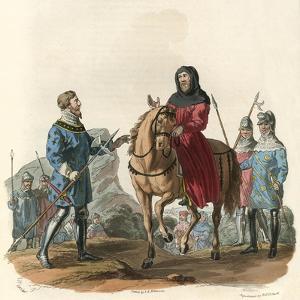 King Richard II as a Prisoner by Charles Hamilton Smith