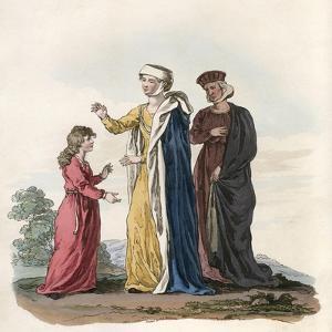 Ladies Costume Henry III by Charles Hamilton Smith