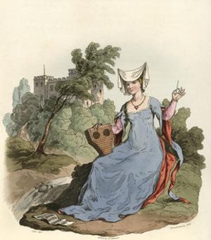 Lady of 1420 by Charles Hamilton Smith