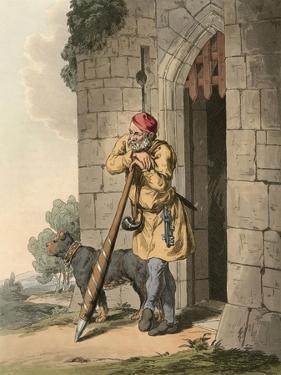 Medieval Porter by Charles Hamilton Smith
