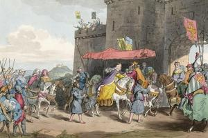 Noblewoman Enters Town by Charles Hamilton Smith