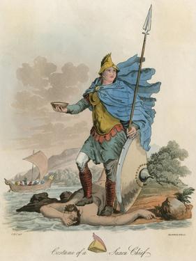 Saxon Chief Ca 800 by Charles Hamilton Smith