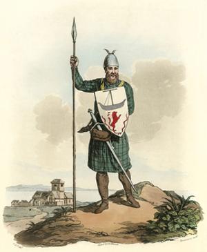 Scots Knight 14th Cent by Charles Hamilton Smith