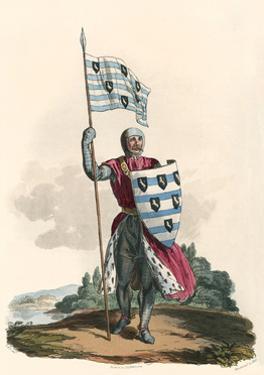 Sir John de Sitsylt by Charles Hamilton Smith