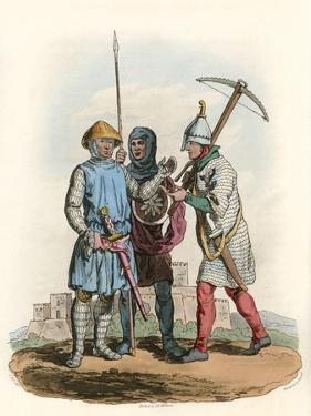 Soldiers of Henry III by Charles Hamilton Smith