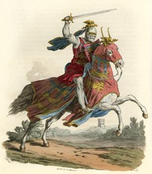 Thomas Earl of Lancaster by Charles Hamilton Smith
