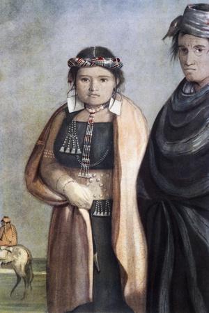 Natives of Pampas, 1841