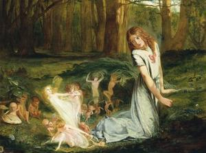 A Glimpse of the Fairies by Charles Hutton Lear