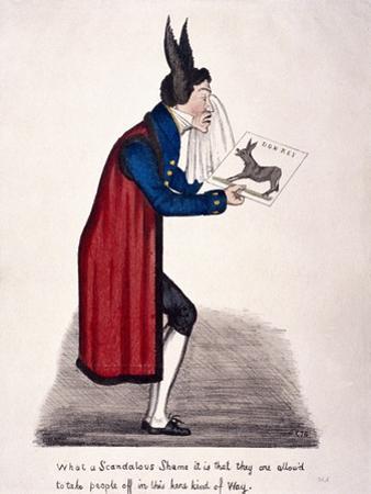 Caricature of Sir John Key, C1830