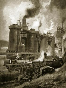 Blast Furnaces of the Period by Charles John De Lacy