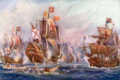 The Glorious Victory of Elizabeth's Seamen over the Spanish Armada, 1588
