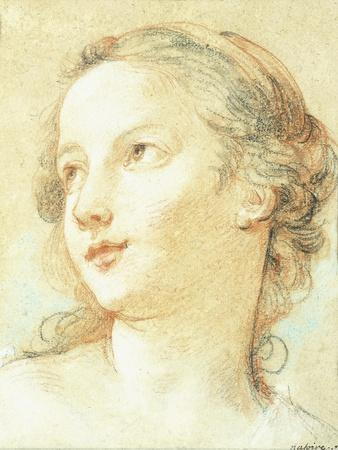 The Head of a Girl Looking to the Left