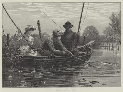 Fishing on the Norfolk Broads
