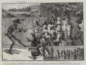The Sexcentenary Celebration of the Pied Piper at Hamelin by Charles Joseph Staniland