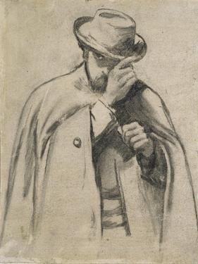 Dante Gabriel Rossetti by Charles Keene