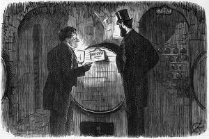 Whisky Drinking by Charles Keene