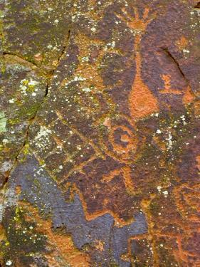 Petroglyphs Believed to Have Been Made by the Sinagua Indians by Charles Kogod