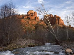 Scenic View of Red Rock Crossing near Sedona by Charles Kogod