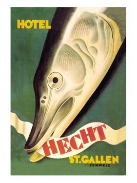 Hotel Hecht, St. Gallen by Charles Kuhn