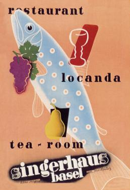 Singerhaus Basel: Restaurant, Locanda, Tea-Room by Charles Kuhn