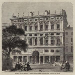 Offices of the Life Association of Scotland, Recently Erected, in Princes-Street, Edinburgh by Charles Landelle