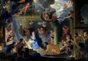 Adoration of the Shepherds, 1689 by Charles Le Brun