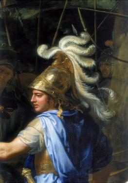 Alexander the Great (Alexander and Porus, Detai), 1673 by Charles Le Brun