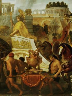 Alexander the Great Enters Babylon, 1665, Detail by Charles Le Brun