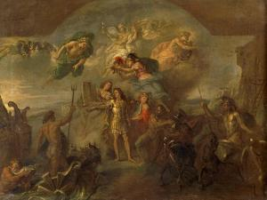 Allegory of Louis XIV, the King Armed on Land and at Sea, 1678 by Charles Le Brun