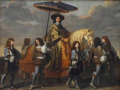 Chancellor Séguier at the Entry of Louis XIV into Paris, 1660 by Charles Le Brun