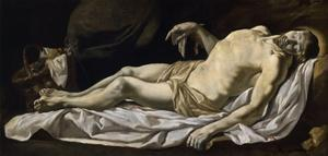 Christ in Sheet by Charles Le Brun