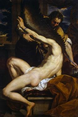 Daedalus and Icarus, 1645 by Charles Le Brun