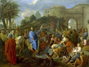 Entry of Christ into Jerusalem by Charles Le Brun