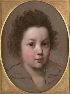 Head Study of a Boy by Charles Le Brun