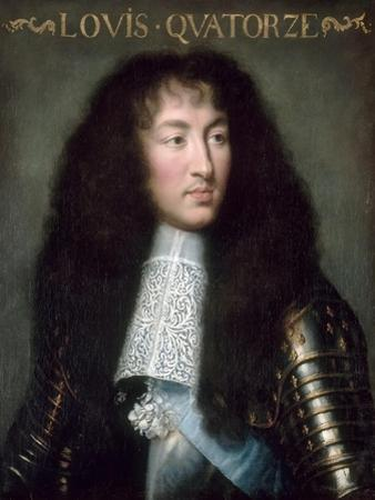 Louis XIV, King of France (1638-171) by Charles Le Brun