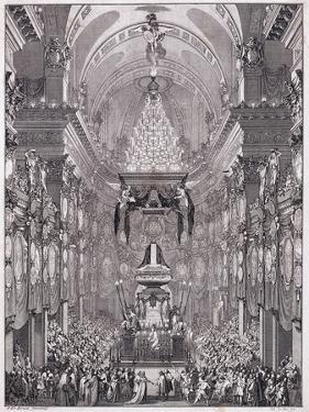 Mausoleum of the Oratoire Du Louvre by Charles Le Brun
